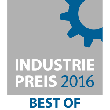 "GeBE Picture Erneut ""BEST OF 2016"" beim INDUSTRIEPREIS"
